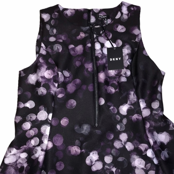 DKNY Dresses & Skirts - DKNY Sleeveless Zipper Front Dress -Dark Purple-16